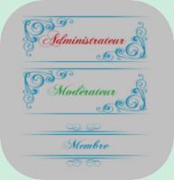 Divers - Rangs (différents packs) Arabesques